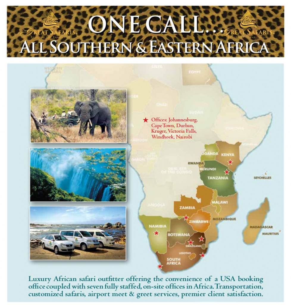 One Call... All Southern & Eastern Africa