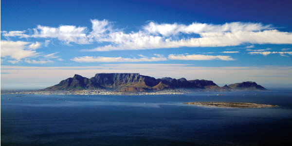 Golden Triangle Safari Cape Town aerial view
