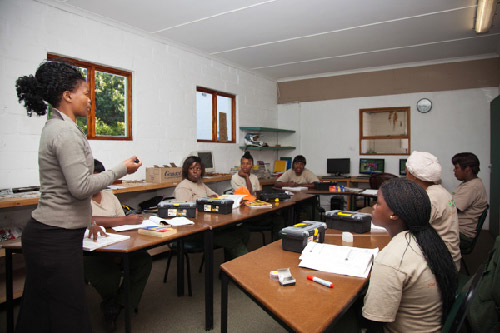 Grootbos Foundation Growing the Future instruction