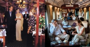 Relaxing in the Rovos Rail lounge car on the Cape to Cairo Ultimate Journey of a Lifetime