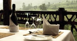 Mahogany Springs Safari Lodge dining