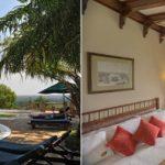 Paraa Safari Lodge pool and bedroom