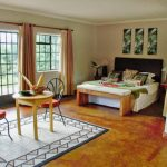 Sabyinyo Silverback Lodge bedroom
