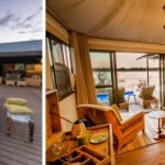 Old Drift Lodge boma and tented suite