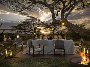 Serengeti Explorer Camp dining