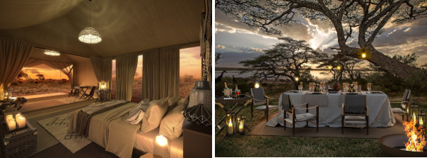 Bucket List Bush Safari & Ocean Stay - Tanzania Serengeti Explorer Camp