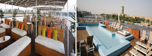 Movenpick Royal Lily deck seating pool deck