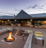 Royal Botswana Safari with Victoria Falls Old Drift Lodge boma