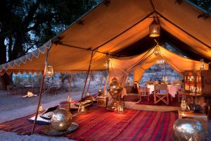 Royal Botswana Safari Selinda Explorers Camp