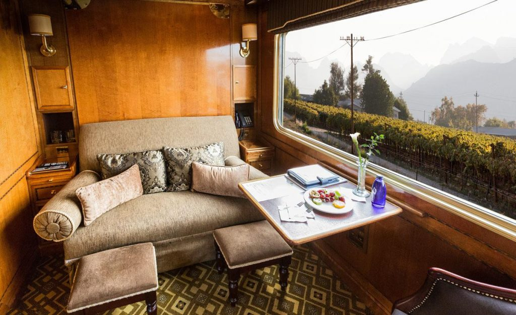 The Blue Train deluxe suite