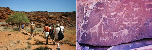 Namibia Flying Safari - 12 Days Damaraland hiking and petroglyphs