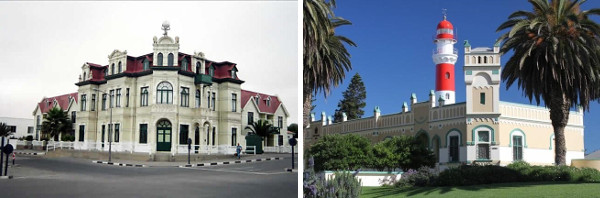 Namibia WIng Safari - 12 Days Swakopmund architecture