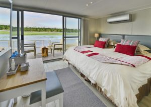 Botswana Cruise & Victoria Falls Chobe Princess bedroom
