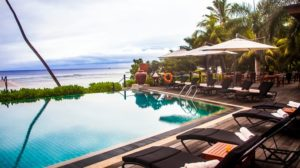 DoubleTree Allamanda Resort & Spa Seychelles infinity pool