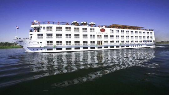 Crown Empress Nile Cruise exterior